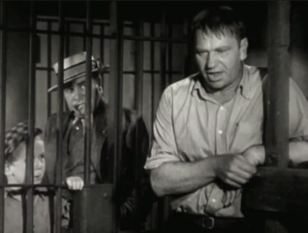 Jackie Cooper, Edward Brophy, and Wallace Beery in The Champ (1931) The Champ (1931) trailer 1.jpg