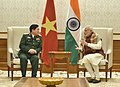 The Defence Minister of Vietnam, General Ngo Xuan Lich calls on the Prime Minister, Shri Narendra Modi, in New Delhi on December 05, 2016.jpg