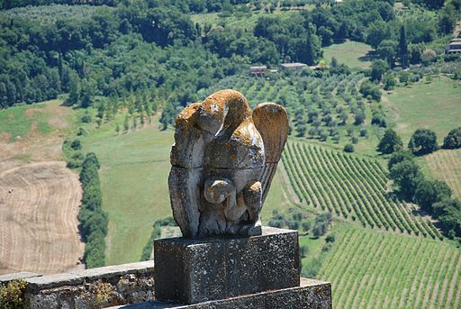 The Eagle on Porta Romana, Orvieto