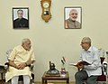 The Governor of Gujarat, Shri O.P. Kohli calls on the Prime Minister, Shri Narendra Modi to wish him on his birthday, in Gandhinagar, Gujarat on September 17, 2016 (1).jpg