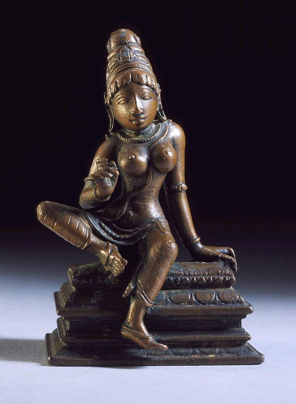 The Hindu Goddess Parvati LACMA M.72.1.14 (1 of 2)
