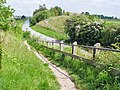 The Hudson Way crosses Gardham Road - geograph.org.uk - 826381.jpg