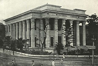 Metcalfe Hall building in India