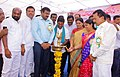 The MLA, Armoor, Shri A. Jeevan Reddy along with the Municipal Chairperson, Armoor, Smt. Swathi Singh Babloo and the District Magistrate and District Collector.jpg