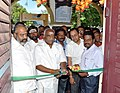 The Minister of State for Road Transport & Highways and Shipping, Shri P. Radhakrishnan inaugurating the DAVP exhibition, at Madurai, in Tamil Nadu on June 09, 2015.jpg