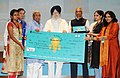The Ministers of State for Drinking Water and Sanitation, Shri S.S. Ahluwalia and Shri Ramesh Chandappa Jigajinagi presented the Swachhathon Awards, at a function, in New Delhi.jpg