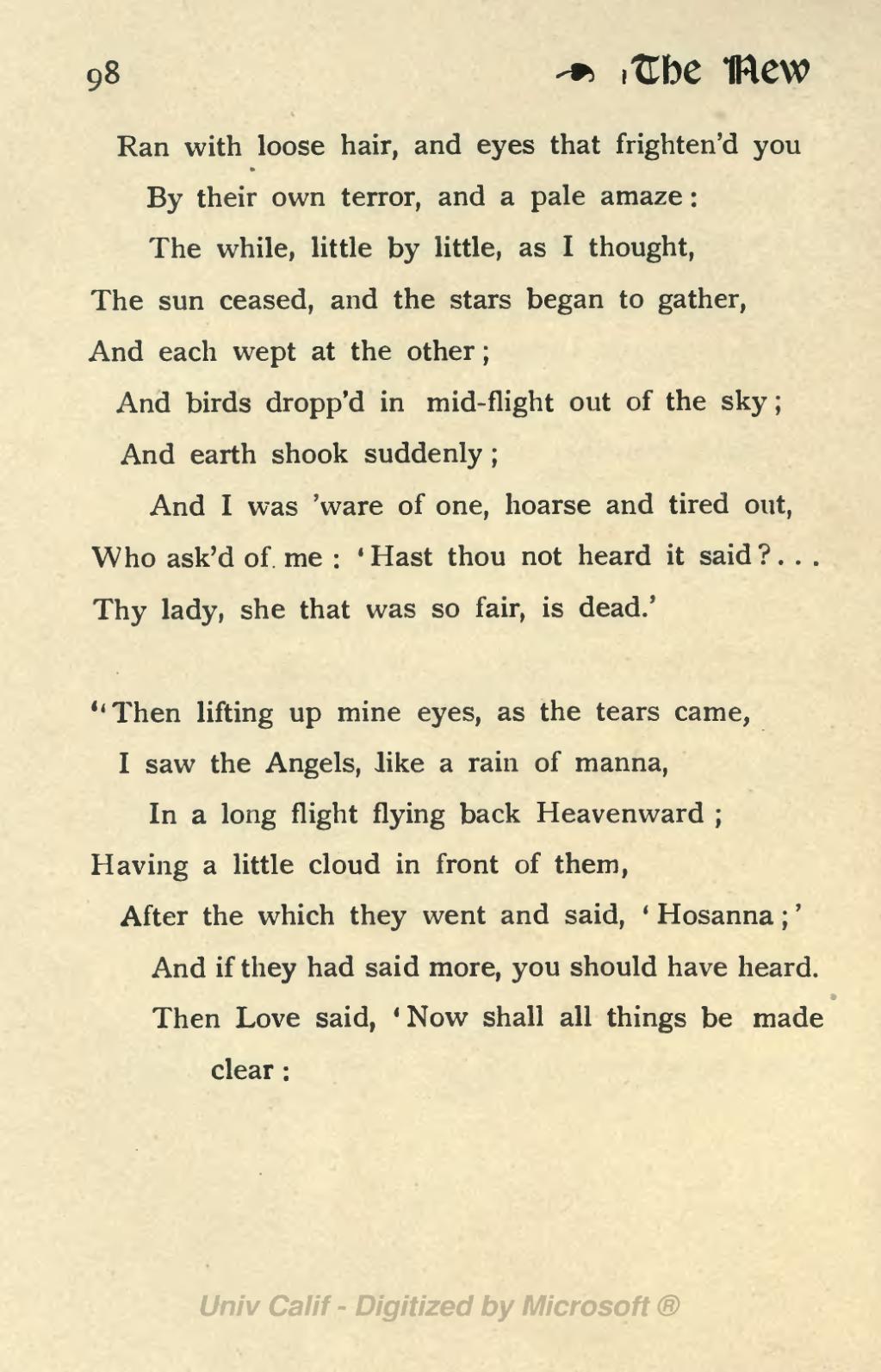 Page:The New Life (Rossetti 1899) Siddal ed djvu/104