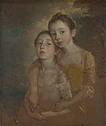 The Painter's Daughters with a Cat, by Thomas Gainsborough 017.jpg