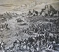 The Phillip Medhurst Picture Torah 302. Waters of the Nile turned into blood. Exodus cap 7 v 19. Luyken and son.jpg