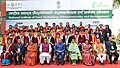 The President, Shri Ram Nath Kovind in a group photograph, at the 1st Convocation of the National Institute of Food Technology Entrepreneurship & Management (NIFTEM), at Sonipat, in Haryana.jpg