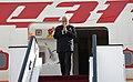 The Prime Minister, Shri Narendra Modi arrives at Queen Alia International Airport, in Amman, Jordan on February 09, 2018.jpg