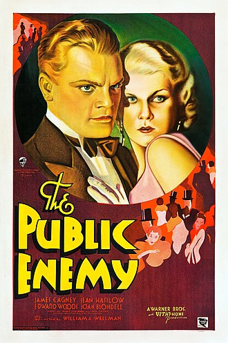 The Public Enemy - theatrical release poster