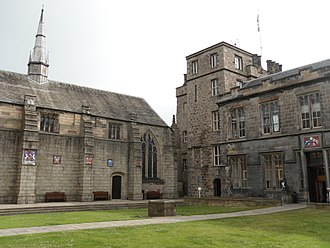 University of Aberdeen - King's College quad