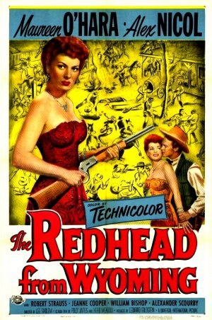 The Redhead from Wyoming - Film poster by Reynold Brown