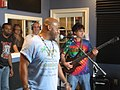 The Revealers at radio WWOZ New Orleans October 2009 43.jpg