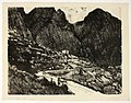The Shining Rocks, Delphi by Joseph Pennell.jpg