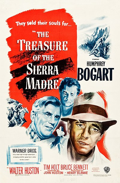 Picture of a movie: The Treasure Of The Sierra Madre
