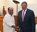 The US Secretary of Defence, Mr. Leon E. Panetta meeting the Defence Minister, Shri A. K. Antony, in New Delhi on June 06, 2012.jpg