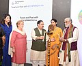 The Union Minister for Health & Family Welfare, Shri J.P. Nadda lighting the lamp at the curtain raiser event for the 2018 Partners' Forum, in New Delhi.jpg
