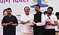 The Vice President, Shri M. Venkaiah Naidu releasing books on Yoga at the 4th International Day of Yoga 2018 celebrations, in Mumbai (1).JPG