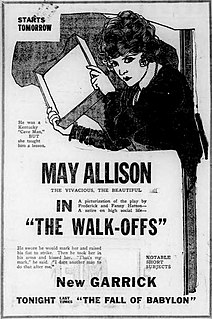 <i>The Walk-Offs</i> 1920 lost film directed by Herbert Blaché