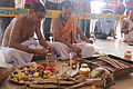 The Yagna ceremony on the occassion of Durga Puja. This Yagna or sacrifice happens at the end of Navami i.e. the 9th day of Durga Puja..JPG