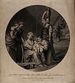 The birth of the Virgin Mary, a 'virga' (shoot) from the gen Wellcome V0034601.jpg