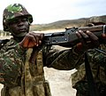 The chamber of a Gambian soldier's rifle during combat marksmanship training July 15, 2012, in Thies 120715-M-XI134-1660 (cropped).jpg
