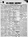 The front page of the Helsingin Sanomat for July 7, 1904.jpg