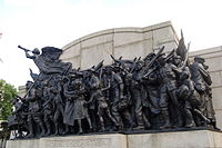 The response, 1st world war memorial, Newcastle Upon Tyne - geograph.org.uk - 934871.jpg