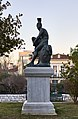 The statue Theseus on Apostolou Pavlou Pedestrian Street in the neighbourhood of Thiseio.jpg