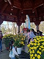 The statue of Our Lady of Fatima in Mang Den.jpg