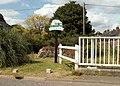 The village sign at Dalham - geograph.org.uk - 525343.jpg