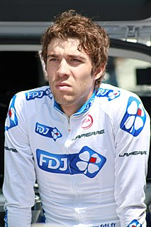Thibaut Pinot French racing cyclist