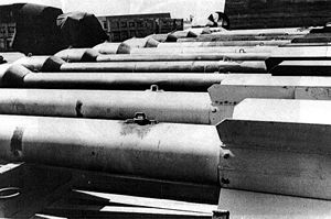 "Thin Man (nuclear bomb) - ""Thin Man"" plutonium gun test casings"