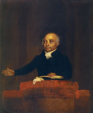 Thomas Badger - Image: Thomas Paul ca 1825 by Thomas Badger Smithsonian