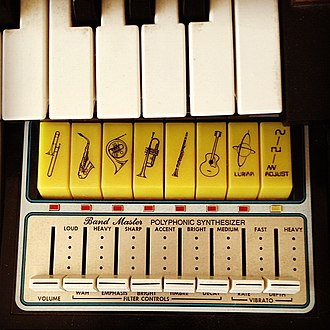 "Thomas Organ Company - ""Band Master"" Polyphonic Synthesizer on Thomas 2001"