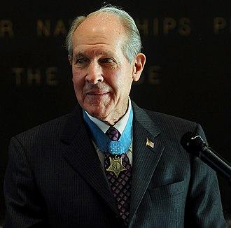 Thomas J. Hudner Jr. - Hudner at the U.S. Naval Academy in December 2008