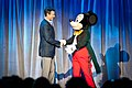 Thomas O. Staggs, Mickey Mouse, Disney D23 Expo 2011.jpg