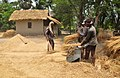 Threshing of paddy in village of Bangladesh.jpg
