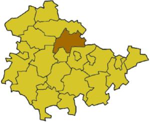 Sömmerda (district) - Image: Thuringia soem