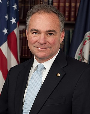 United States presidential election, 2016 timeline - Senator from Virginia Tim Kaine