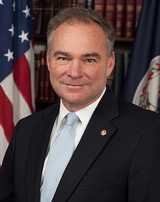 Tim Kaine - Image: Tim Kaine, official 113th Congress photo portrait