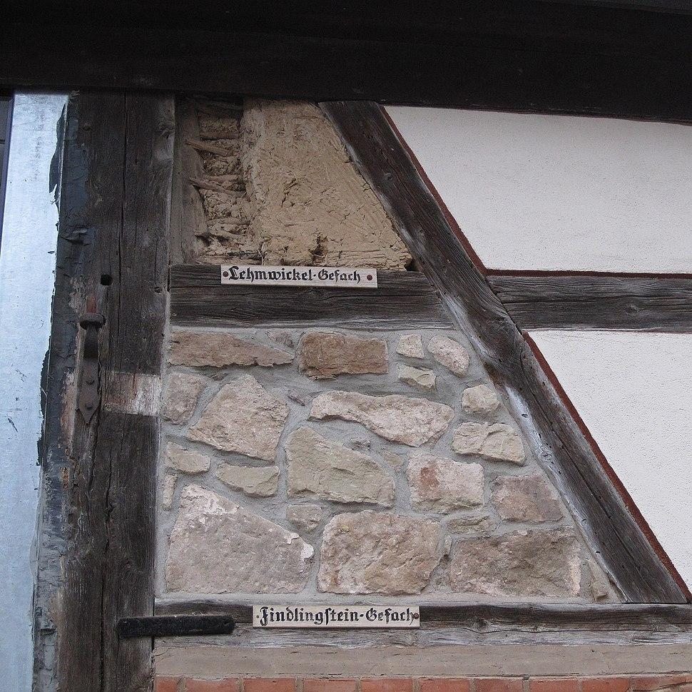 Timber frame infills