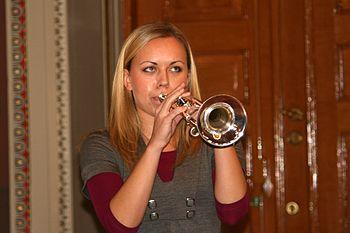 English: Tine Thing Helseth, Norwegian trumpet...