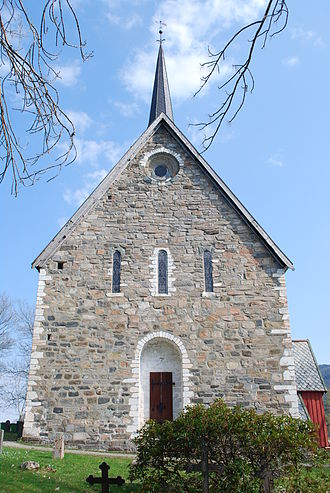 Tingvoll - View of Tingvoll Church