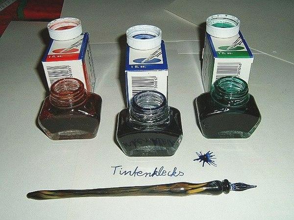 Как сделать чернила для ручки 219