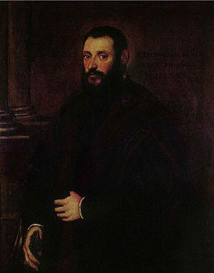 Eva Klabin Foundation - Jacopo Tintoretto - Portrait of Nicolaus Padavinus (1589).