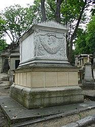 Jean-Louis Provost: François-Joseph Lefebvre's tomb