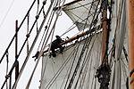 Tonnerres de Brest 2012 - La Recouvrance - Le gabier - 207.jpg